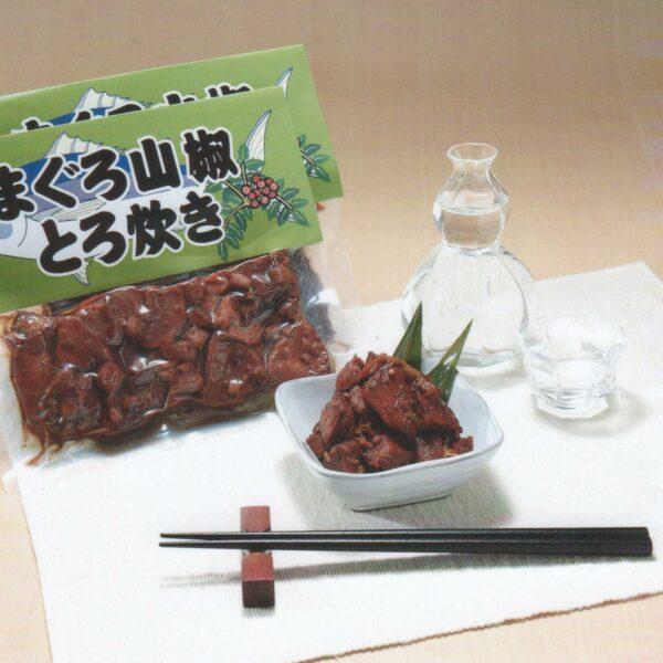写真:まぐろ山椒とろ炊き