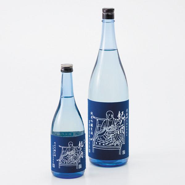 写真:純米吟醸生酒「紀ノ酒」