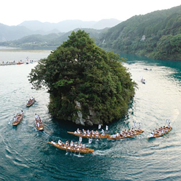 写真:熊野速玉大祭(御船まつり)