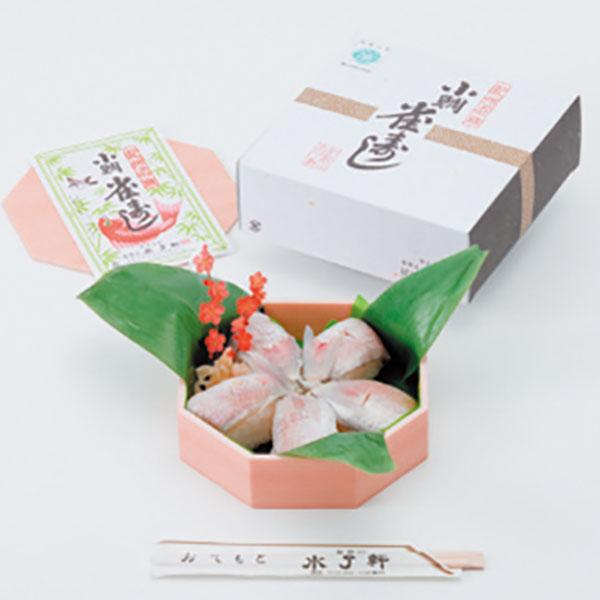 写真:小鯛雀寿司(特上)