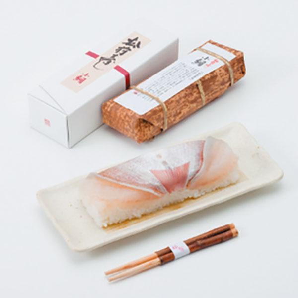 写真:棒寿司(小鯛)