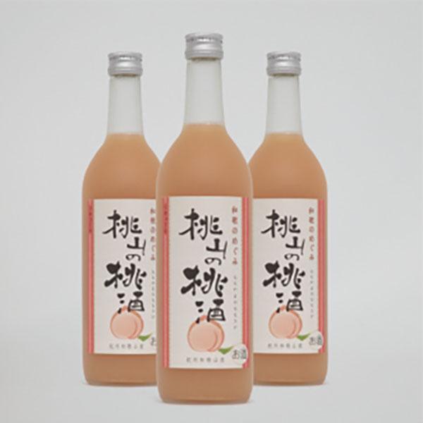 写真:和歌のめぐみ 桃山の桃酒