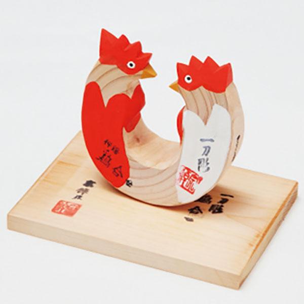 写真:郷土玩具 鶏合せ