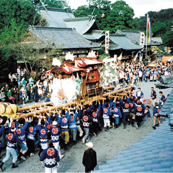 写真:隅田八幡神社の秋祭