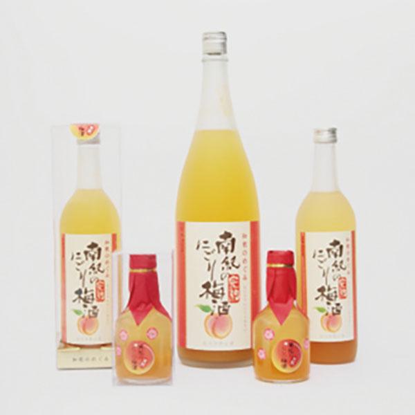 写真:和歌のめぐみ 南紀の完熟にごり梅酒