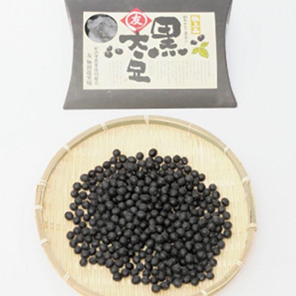 写真:鞆渕がんこ農家の○友(まるとも)黒大豆