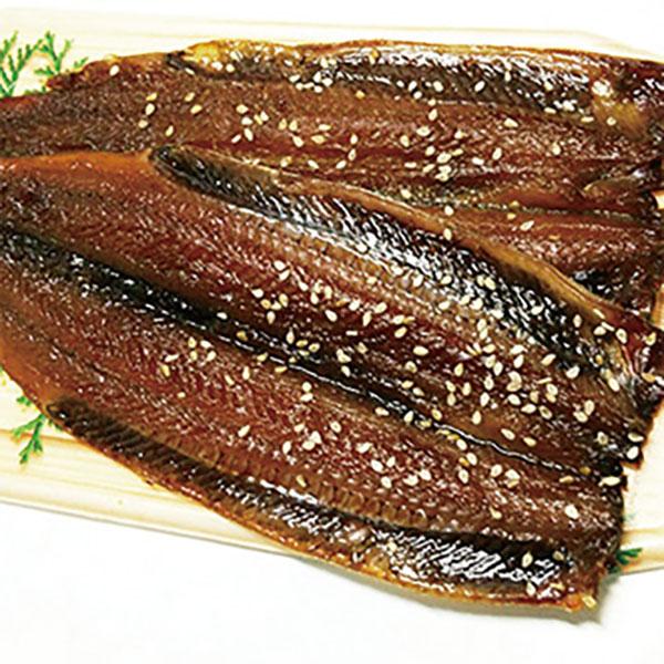 写真:紀州ゆあさ魚義 湯浅醤油のサンマの味醂干し