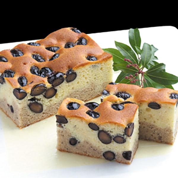 写真:紀州鞆渕 黒豆パウンドケーキ