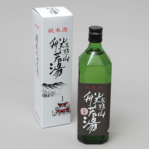 写真:純米酒 高野山般若湯