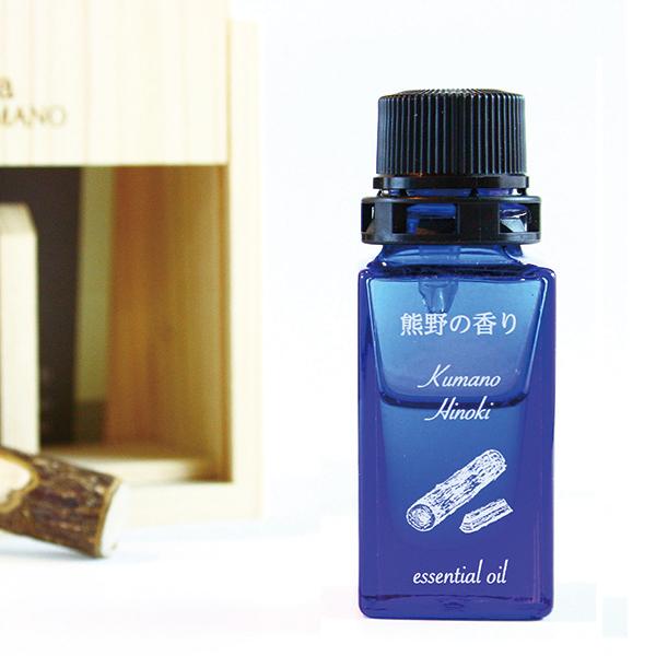 写真:熊野の香り 熊野ヒノキ(材) アロマオイル