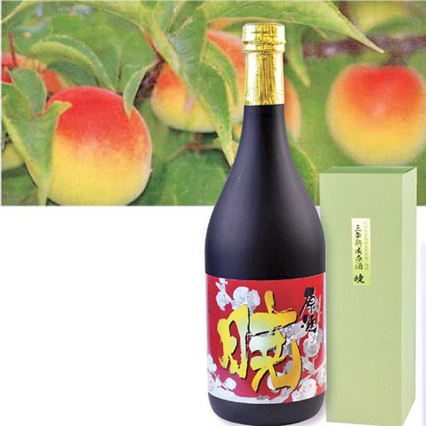 写真:紀州産南高梅梅酒 原酒 暁