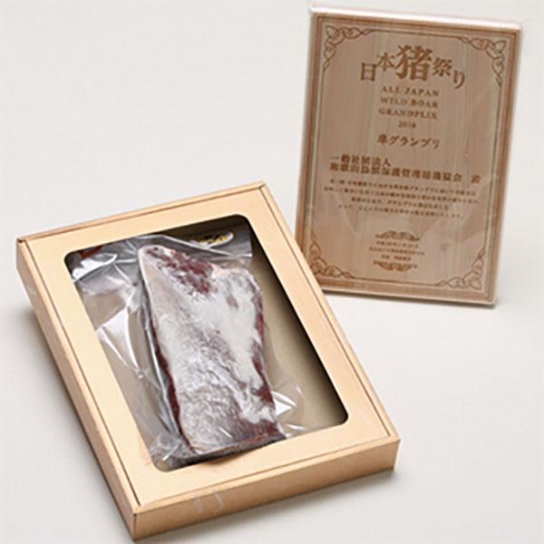 写真:いの屋の鹿肉