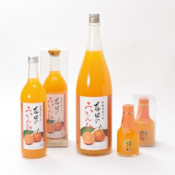 写真:和歌のめぐみ 有田のみかん酒