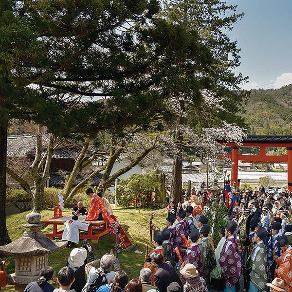 写真:丹生都比売神社 花盛祭