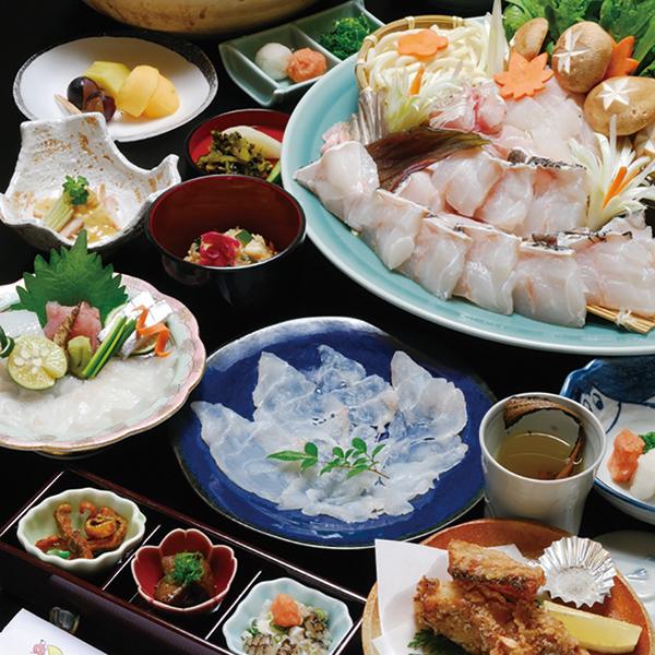 写真:日高町 天然クエ料理