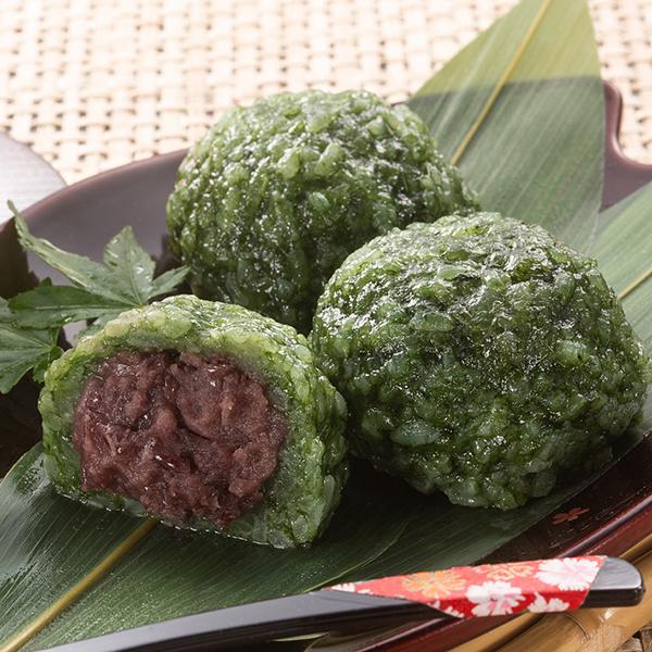 写真:熊野本宮・釜餅(よもぎ)