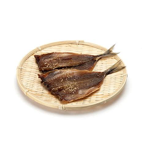 写真:紀州ゆあさ魚義 湯浅醤油のアジの味醂干