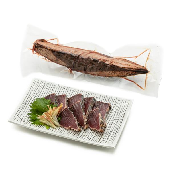 写真:黄金藁焼き一本釣鰹タタキ