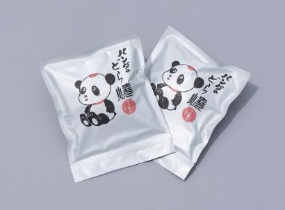 パンダのどら焼きのパッケージ