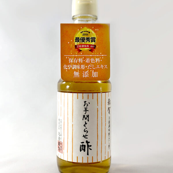 写真:雑賀 万能調味酢(だし酢) お手間とらせ酢